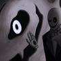 Undertale: Ghaster by Moxy-Art