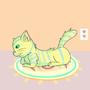 Yellow Cat by Welldoneshellfish