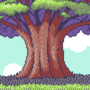 Pixelated Tree by UltimoGames