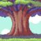 Pixelated Tree