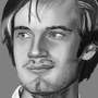 PewDiePie Painting by ThatDeadKid