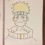 Naruto Drawing #1 Attempt by LachlanKing