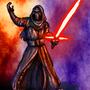 Kylo Ren Dark Force by BlackArro3
