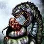 Snake Feast by BlackArro3