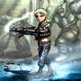 Wandering the Wasteland Fallout Fan Art by BlackArro3