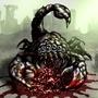 Scorpion Fallout Fan Art by BlackArro3