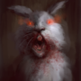 The Killer Rabbit Of the Caerbannog by Undeadcrab