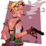 Tank Girl by Sazzifrazz