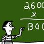 260027 x 5 = BOOBS