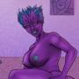 Alien Babe - Devox by TheSquatch
