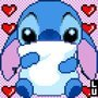 Stich Pixel Art By Lucas (me!) by BarbozaSounds12