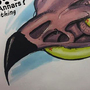 Eagle skull by Toothytoozu