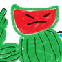 Watermelon-man by CaptainFifi