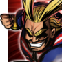 All Might - BnHA Action Shot by henlp
