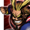All Might - BnHA Action Shot