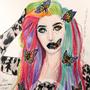 Rainbow butterflies by amandadarko
