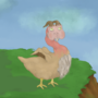 Satyr Chicken by ponderous-plants