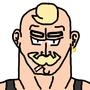 Muscle man sam by NLindgren