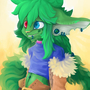 Green OC by Twymouse