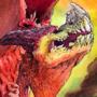 dragon by MrCreeep