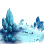 Crystal Background by Twymouse