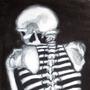 Sweeney Todd Skeleton - A Macabb Study by CafeCorgi