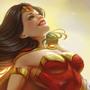 Wonder Woman Happy