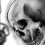 A skull by theOneManPerson