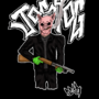 Pig with a shotty by DETHSKULPT