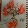 Dragmander!!- Pokemon fusion by DaQuirkster