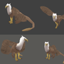 Griffin - 3D MODEL by Witacha