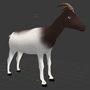 Goat - 3D MODEL by Witacha