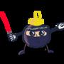 The Christmas Ninja by jaricreations