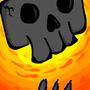 Flaming Skull MK I by FloorAesthetics