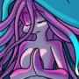 Lady jellyfish