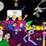 Artist party by FScomiX