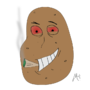 Baked Potato by MasterCyconide