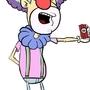 Explosive clown.