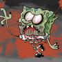 Zombie Spongebob by HotDiggedyDemon