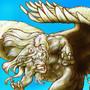 Vexed Pegasus Anthro by BlackUniGryphon