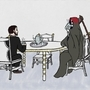 Tea with Death by Anthony-Liberty
