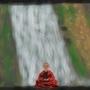 Monk Meditation by Anthony-Liberty