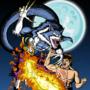 Jon Talbain vs Fei Long Colored by eMokid64