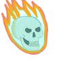 dumb skull I did by CoolBadArt