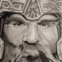 Gimli - Lord Of The Rings by Damrock