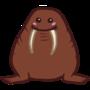 Cute walrus by Goldsaw