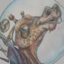 Space Giraffe by RTaylor