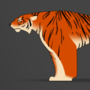 Stylized Tiger Jump Cycle