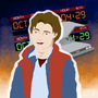 Marty Mcfly by carlinesart