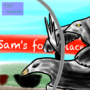 Buckbeak Versus Gwaihir race by T-C-E-Harris